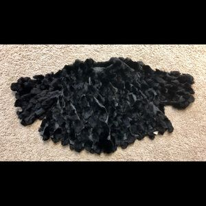 Accessories - Real fur wrap NWT